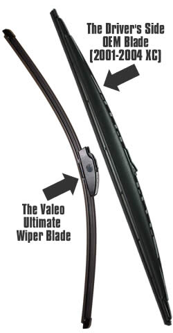 OEM vs. Ultimate Wiper Blade